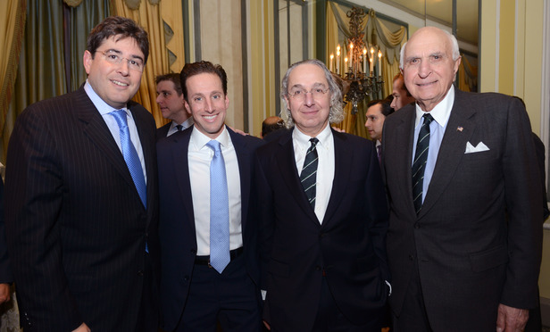 Eric Goldstein, Edward O. Sassower, Theodore N. Mirvis and Ken Langone