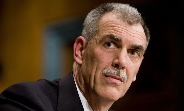 U.S. Solicitor General Donald Verrilli Jr. at his nomination hearing, March 2011.