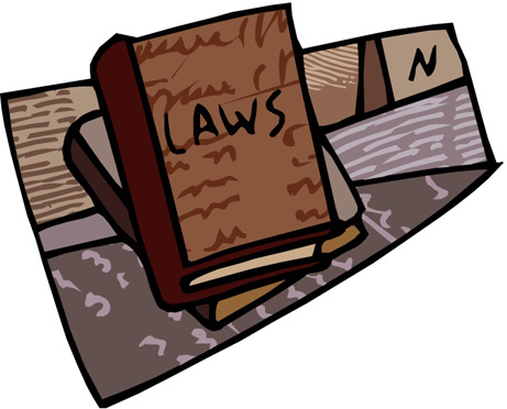 Illustration of law books for the Federal Rules of Civil Procedure