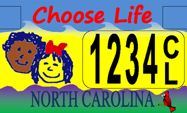 Justices Asked to Revive N.C.'s 'Choose Life' Tags