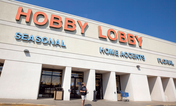 A Hobby Lobby Inc. store in Little Rock, Ark.