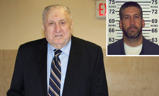 Former judge Frank Barbaro and mugshot of Donald Kagan