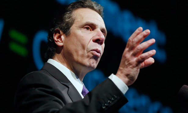 Governor Andrew Cuomo presents his executive budget proposal