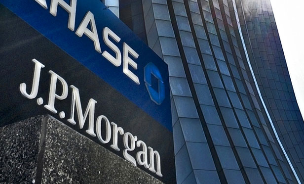 JP Morgan Chase sign