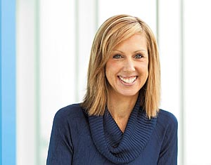 Melissa Frugé, vice president and general counsel of Austin-based HomeAway Inc.