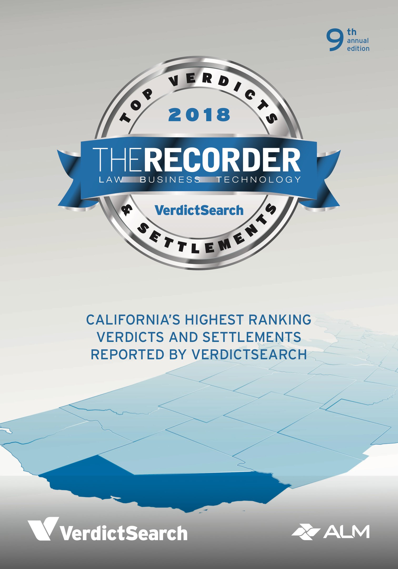 2018 Recorder's Top California Verdicts and Settlements